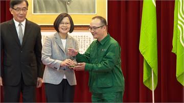 中華郵政績優楷模表揚大會 總統蔡英文親臨頒獎