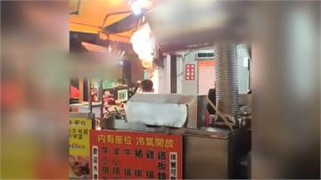 宜蘭羅東夜市火警 小籠包店起火老闆輕傷