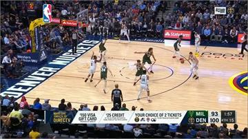 NBA/字母哥因傷缺賽 東區霸主公鹿不敵金塊苦吞3連敗