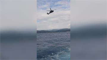 F-5E戰機墜海前「機尾起火」飛官疑避免波及村落開到外海