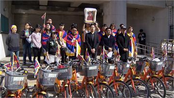 泛綠立委聲援「為西藏而騎」活動開跑!陳柏惟:國民黨不敢來