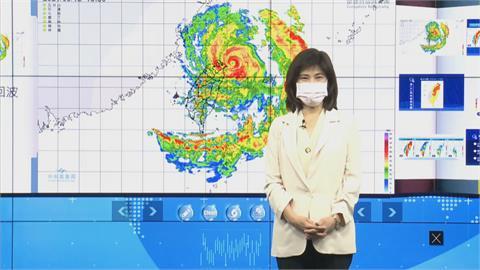 快新聞/中颱「璨樹」遠離台灣!  氣象局宣布20:30解除陸警