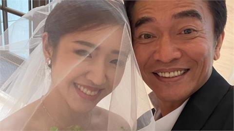 吳宗憲婚禮現場感性飆淚 女兒絕美婚紗「白馬王子」側臉照曝光