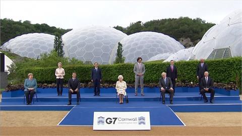 G7峰會英國登場 馬克宏支持「多邊主義抗衡中國」