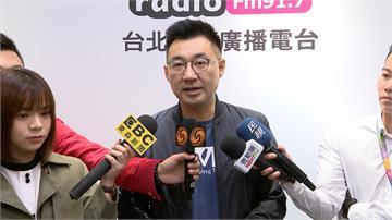 歐陽娜娜唱〈我的祖國〉 江啟臣要總統回答國家認同