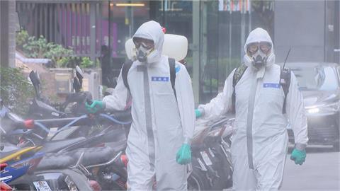 快新聞/屏東潮州鎮爆本土確診7例 今設快篩站並出動化學兵全鎮大消毒