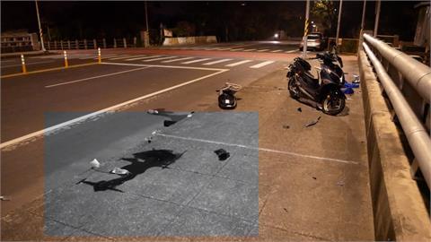 貨車路口擦撞機車 騎士拋飛頭部重創