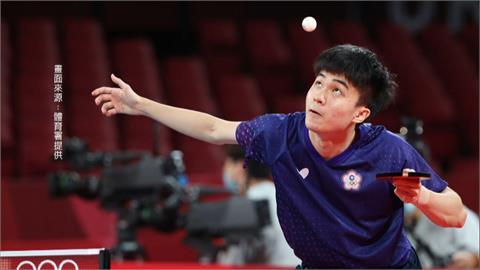 林昀儒奮戰7局落敗 3比4惜敗世界球王樊振東