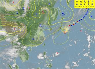 快新聞/東北風增強氣溫稍降 氣象局:東部東南部午後局部短暫陣雨