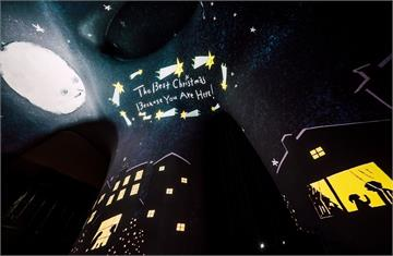 歌劇院〈光之曲幕〉耶誕限定特展—《ONE DAY》 超人氣插畫家包大山帶來耶誕新想像