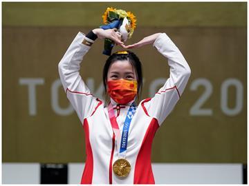 東奧/本屆首金出爐!中國楊倩女子10公尺空氣步槍摘金