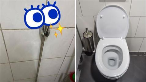 港女來台廁所首發現「萬用神器」 內行人大讚:有這個都不用買衛生紙!