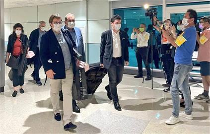 快新聞/法國參議院友台小組結束行程 晚間搭機離台