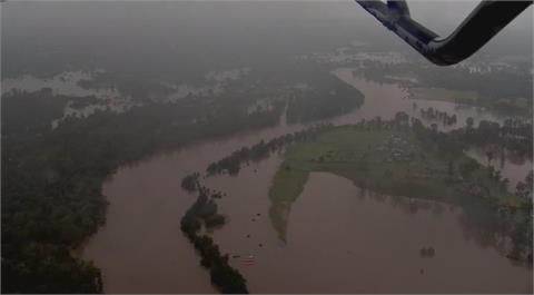 雪梨淹水災情持續擴大 預計再撤離1.5萬人