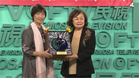 快新聞/民視獲得「統一發票績優營業人」 董事長王明玉致謝