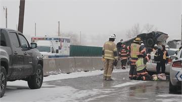 暴雪釀災!科羅拉多州17車連環撞 阿拉巴馬州龍捲風襲擊1死30傷