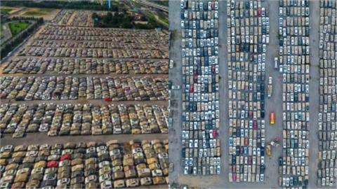 汽車墳場「死亡人數成機密」!外媒:鄭州泡水車有23.8萬輛