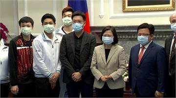 泰國羽球公開賽台灣好手摘4金2銀!蔡總統今接見公開表揚