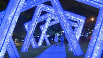 宜蘭三地舉辦年節燈會 四樓高燈籠、水舞秀吸睛