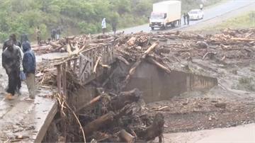 罕見暴雨 土石流 肯亞一個半月72死