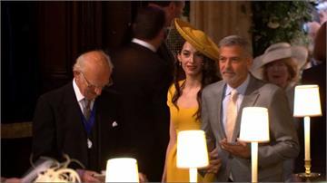 哈利梅根婚禮眾星雲集 貝克漢、喬治克隆尼都到場