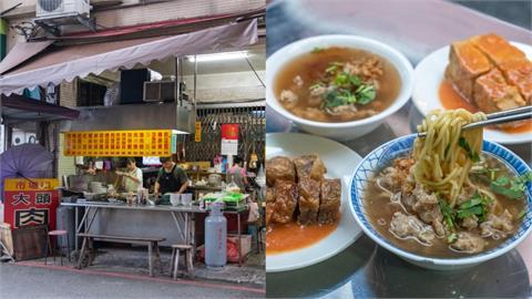 美食/宜蘭羅東美食 市場口大頭肉焿|羅東車站旁老字號經典「肉焿湯」!