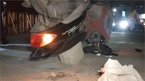 工地警告標示不清 鐵路警自撞摔車