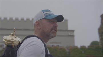 高球/前萊德盃隊長比約恩 揹金盃走210公里募善款