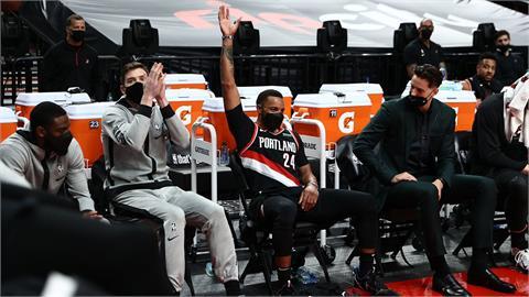 NBA/鮑爾奪個人季後賽新高29分 拓荒者以115:95擊敗金塊