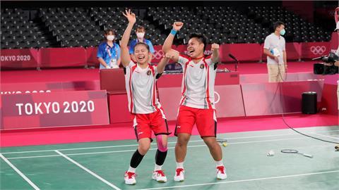 東奧/打敗中國「我草」組合奪金 印尼選手獲贈5頭牛、終身免費美容