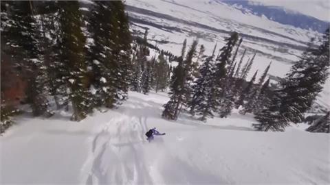 1對1殊死戰! 「天擇滑雪賽」全球高手雲集