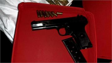 毒蟲擁槍自重遭逮!警起出中國製「黑星手槍」