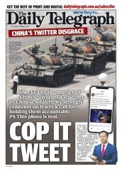 快新聞/趙立堅用假圖諷澳洲軍人 澳媒刊「六四坦克人照」反擊戰狼外交