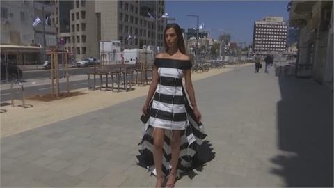 疫情當頭!出征環球小姐選美 以色列小姐李維秀「口罩」戰袍