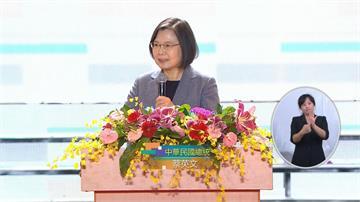 快新聞/國慶晚會談全球經濟局勢  蔡英文:台灣越來越受國際重視