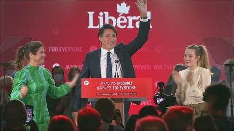 加拿大大選出爐 杜魯道驚險連任總理