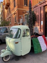 快新聞/G20羅馬峰會前夕 中國駐義大使館遭抗議