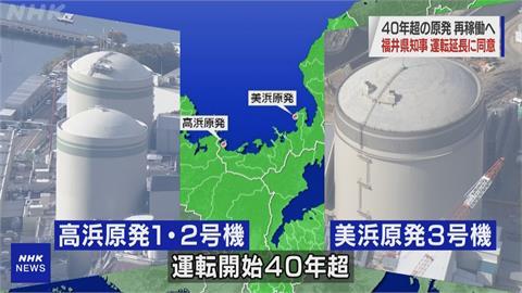 快新聞/福島核電事故後首次 福井縣將重啟逾40年歷史核電機組