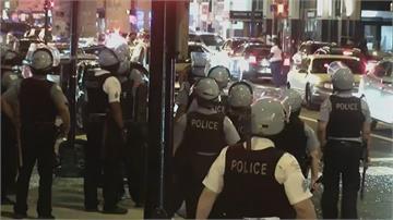 芝加哥高檔商業區遭集體搶劫  上百人被捕 13員警受傷