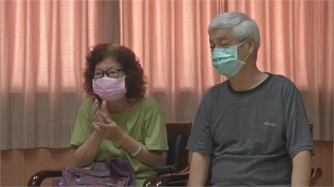 確診老夫婦痊癒出院 醫院暖慶50週年金婚