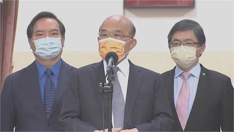 快新聞/蘇內閣施政滿意度破5成 蘇貞昌:政府繼續努力、戰戰兢兢