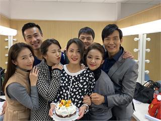 蘇晏霈過32歲生日 工作中度過喊「幸福」