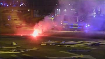 瑞典極右份子焚燒「古蘭經」  民眾上街反伊斯蘭教變暴動火燒車