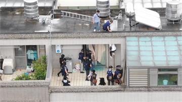 詐騙集團冒中國衛生單位 門窗裝鐵條警利器破門