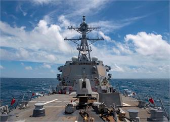 快新聞/美海軍導彈驅逐艦穿越台灣海峽 國防部證實:狀況正常