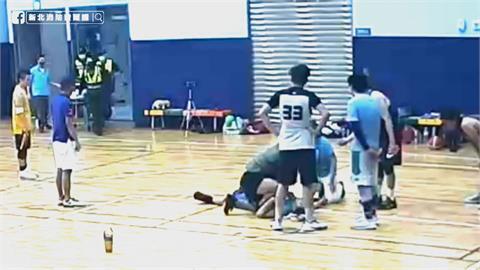 44歲師打籃球昏倒瀕死 CPR八分鐘幸運救回