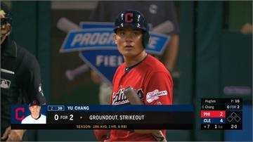 MLB/張育成敲二壘安打鬆一口氣 三壘守備漸入佳境