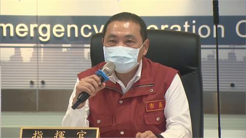 新北獲3.9萬劑疫苗 侯友宜赴警局視察施打
