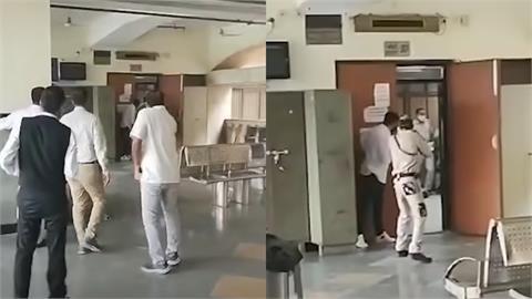 槍手扮律師入法庭「瘋狂掃射」…印度黑幫老大「中7槍身亡」影片曝光