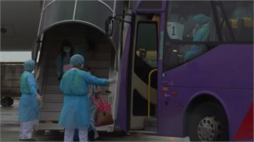 中國撤武漢港人包機全套防疫 對待台灣天壤之別